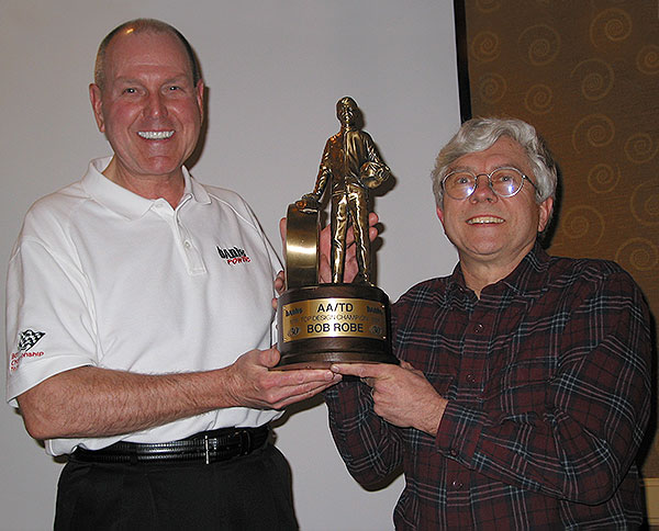 Gale Banks and Bob Robe celebrated 30 years of teamwork on January 23.