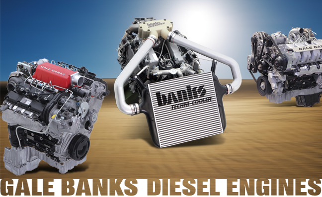 Gale Banks diesel engines