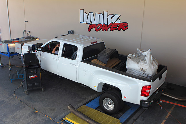 Banks Power and KROQ truck