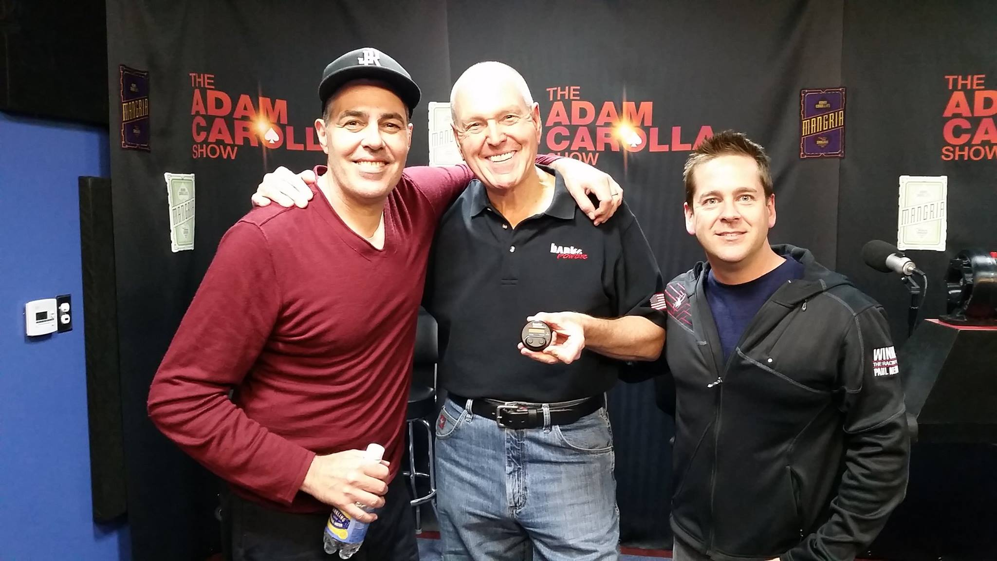 Adam Carolla + Gale Banks