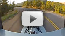 Pikes Peak 2012 - Testing on the mountain (launch)