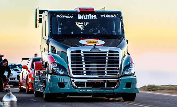 2013 Pikes Peak: Mike Ryan's Banks Super-Turbo Freightliner
