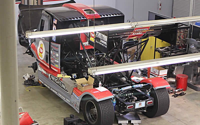 Banks Racing has begun working on the Freightliner