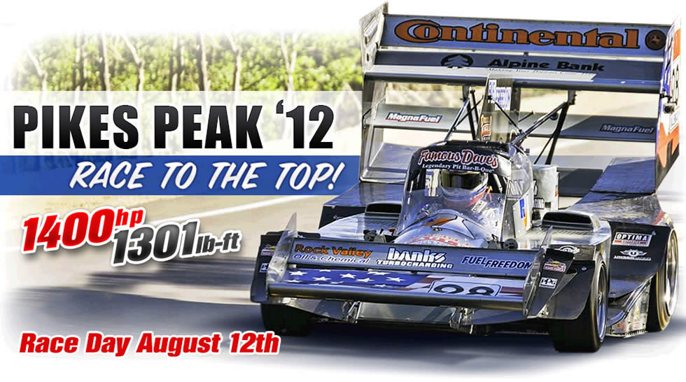 Pikes Peak 2012 - Race to the Top!