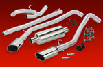 Monster Exhaust System, Split-Dual