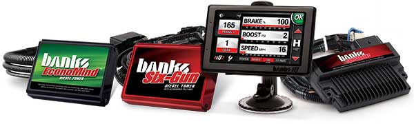 Banks iQ is compatible with all Banks tuners and SpeedBrake