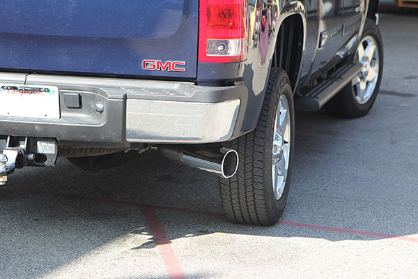 Banks exhaust on Duramax LML