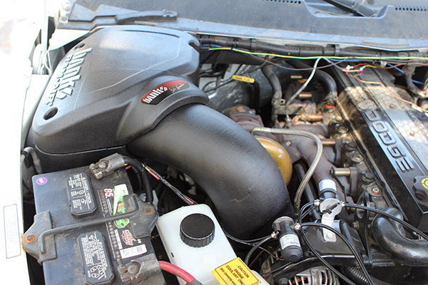 Banks cold air intake for 1994-02 Dodge 5.9L Cummins