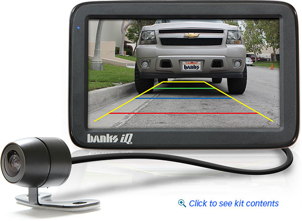 Banks Back-up Camera, Banks iQ (for 61162 only) GBE61185