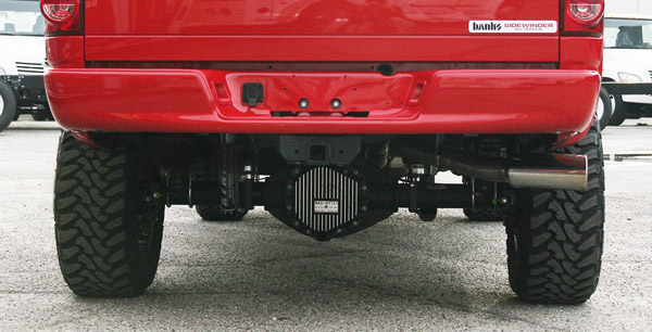 Banks Monster exhaust side single exit