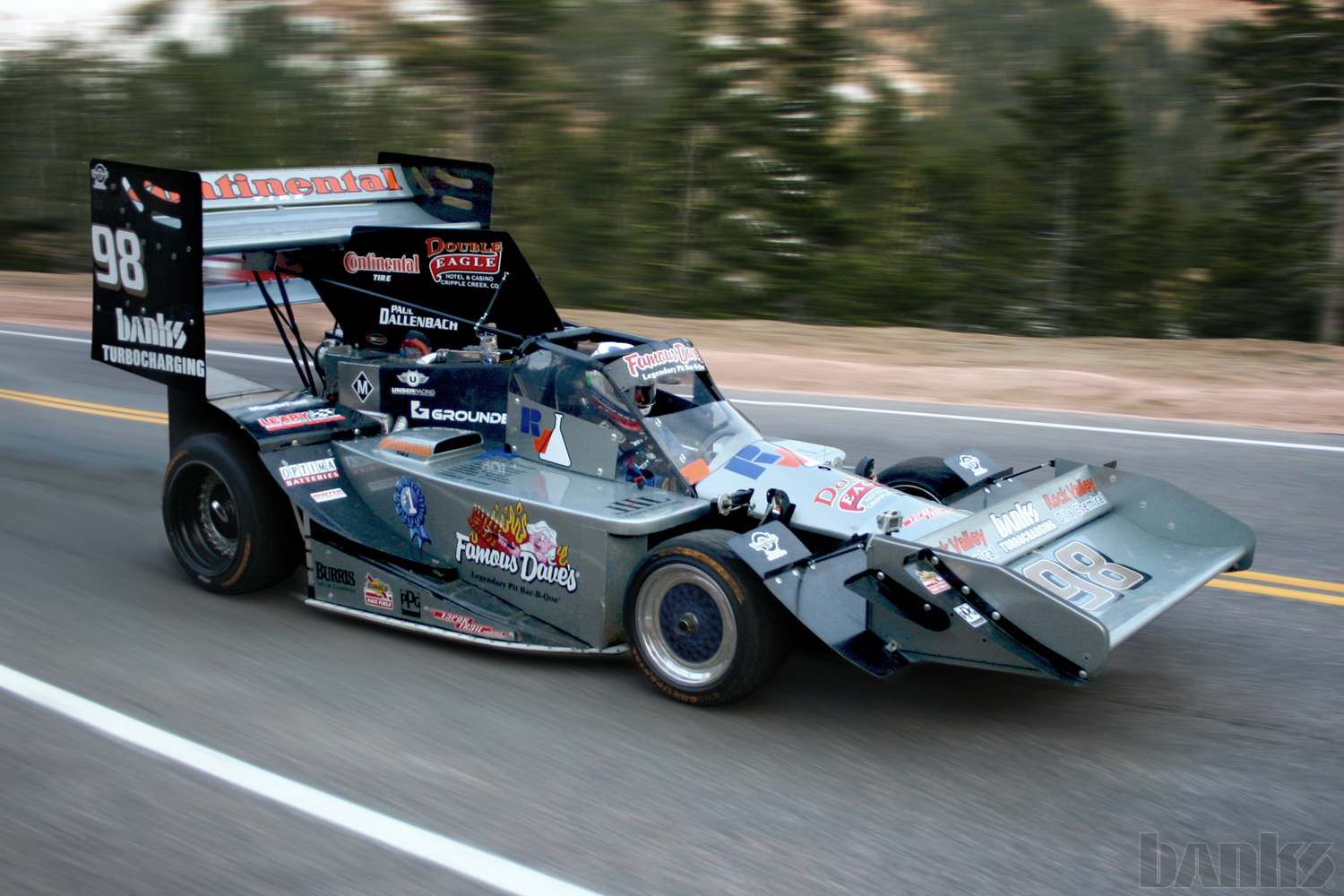 Banks twin-turbo Pikes Peak