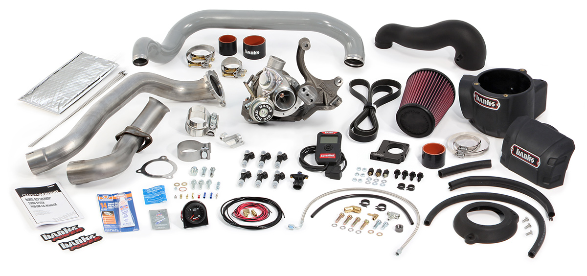 Performance Turbo Kits By Banks Power