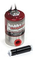 Banks water-meth solenoid and check valve