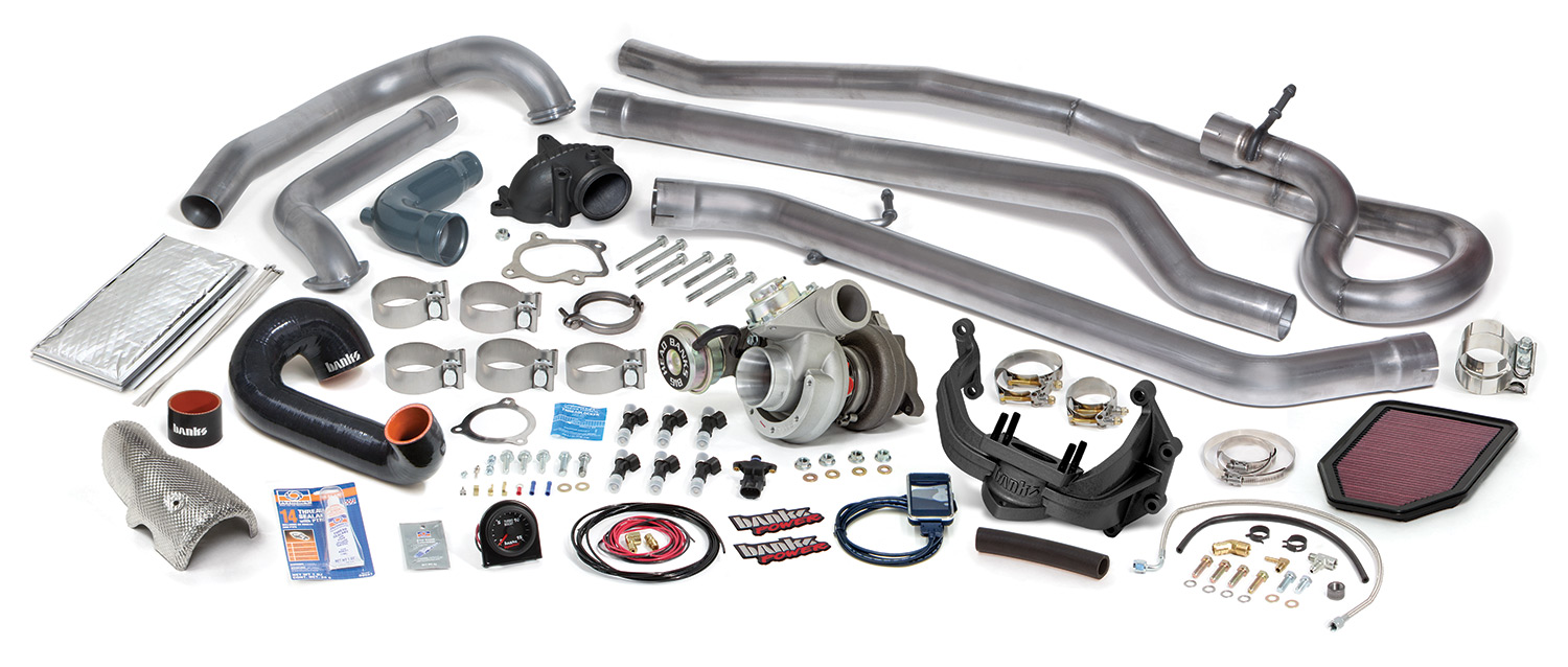 Turbo Systems For 2007 11 Jeeps Are Almost Here Banks Power Jeep 4 0 Stroker Engine Sale Sidewinder System