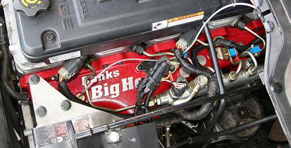 Banks racing intake for Cummins
