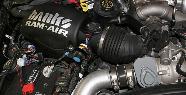 Banks Ram-Air installed on a 6.4L